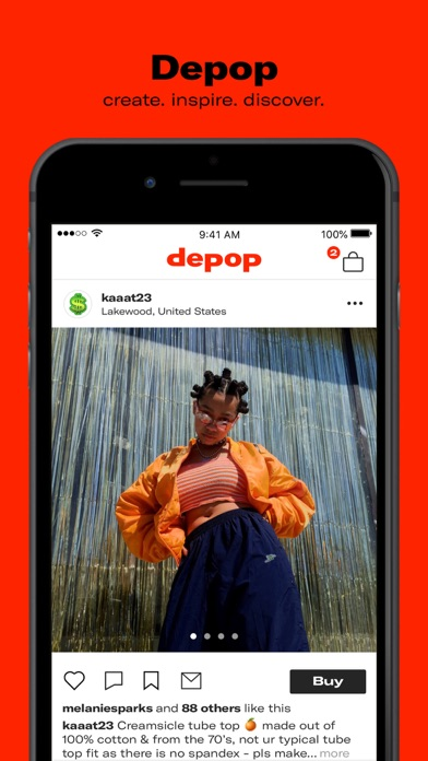 Screenshot for Depop - Buy. Sell. Clothing in Dominican Republic App Store