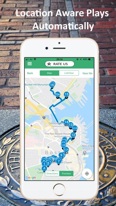 Freedom Trail Boston Guide Screenshot