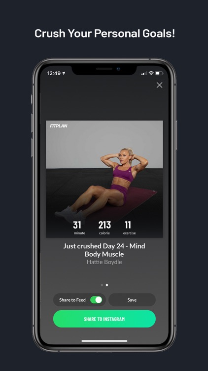Fitplan: Gym & Home Workout screenshot-6