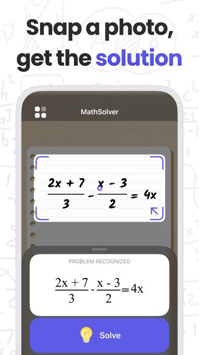 MathMaster: Camera Calculator Screenshot