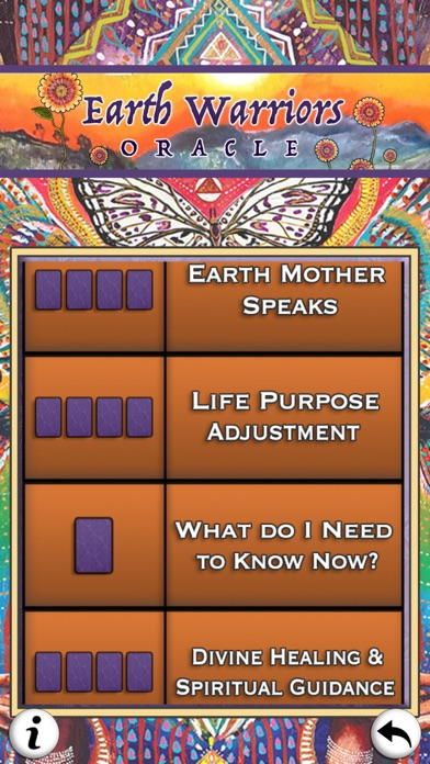 Earth Warriors Oracle Cards screenshot 1