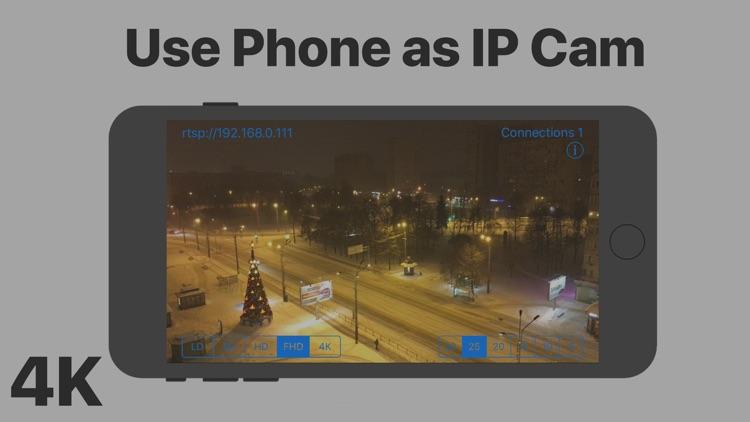 IP Cam: Phone as IP Camera