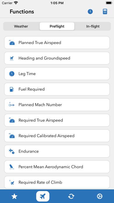 Sporty's E6B Flight Computer Screenshot