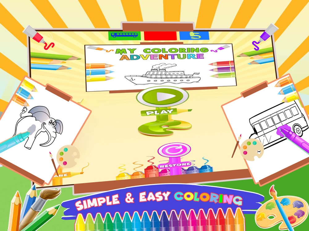 Coloring Book Fun Doodle Games App for iPhone - Free ...