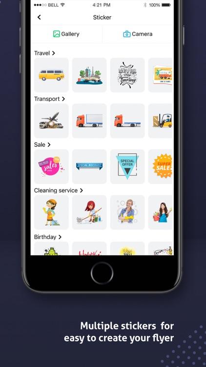 Poster Maker, Flyer Maker 2021 screenshot-7