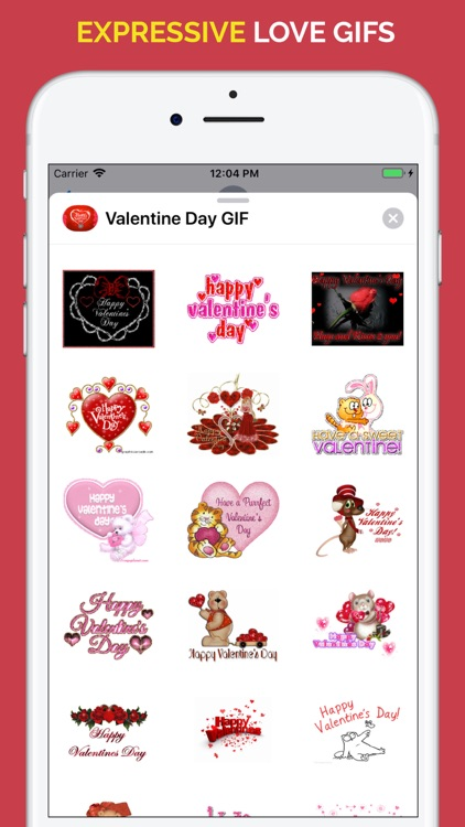 Happy Valentine's Day GIF screenshot-4