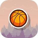 Jumping basketball