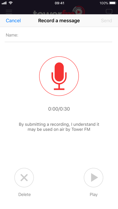 Tower FM screenshot three