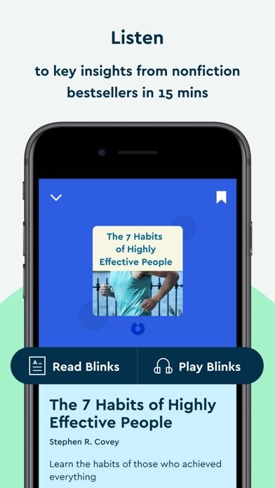 Blinkist: 15min Book Insights Screenshot