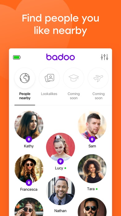 How to find someones profile on badoo