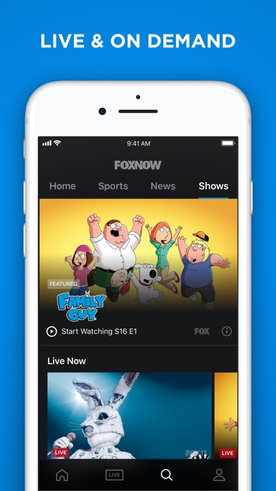 FOX NOW: Watch TV & Sports app image