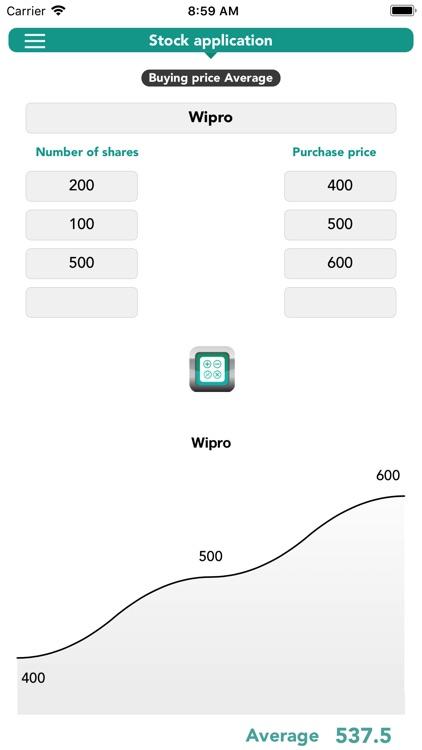 Stocks_Calculator screenshot-3