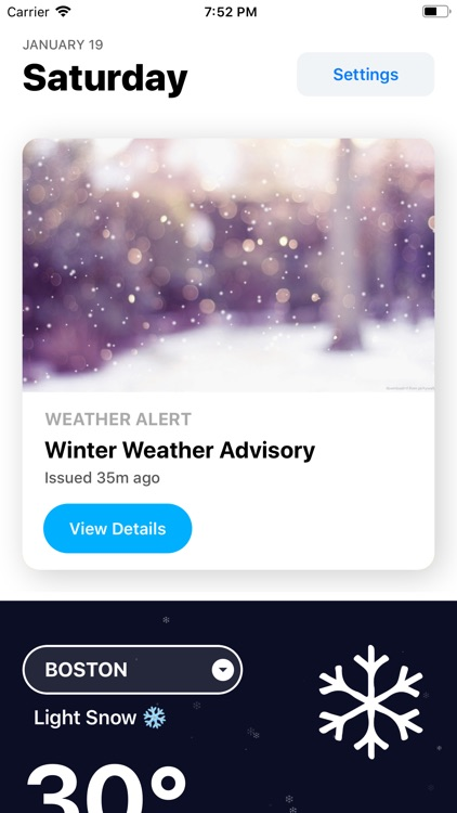 Weather Hippie: Alerts, Radar screenshot-0