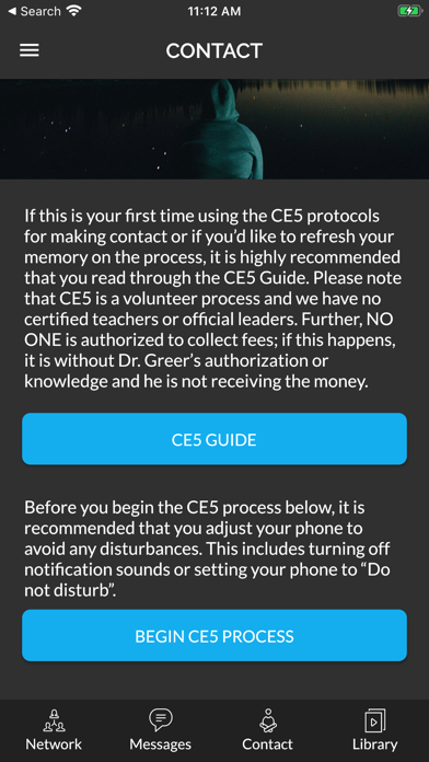 CE5 Contact Screenshot