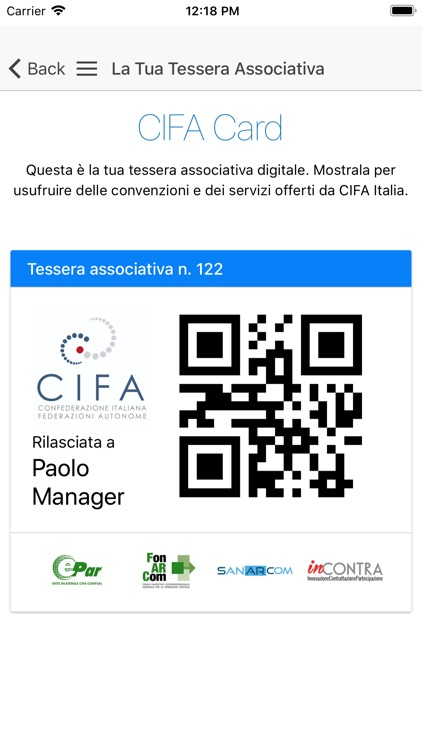CIFA Italia screenshot-6