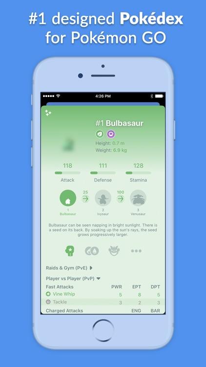 Pocketdex for Pokémon GO screenshot-0