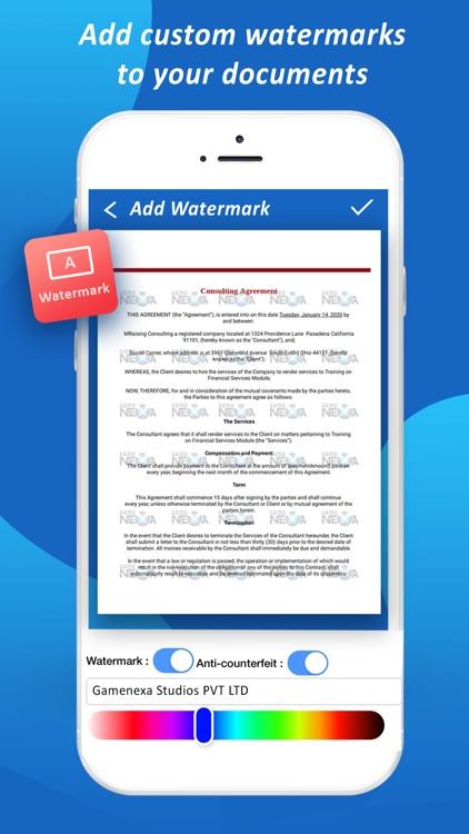 Quick Scanner - Scan Documents screenshot-5