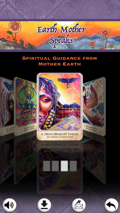 Earth Warriors Oracle Cards screenshot 4