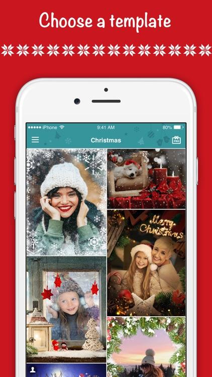 Christmas Photo Frames ゜ screenshot-3