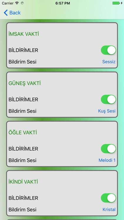 Ezan Vakti Namaz Zamanı screenshot-4