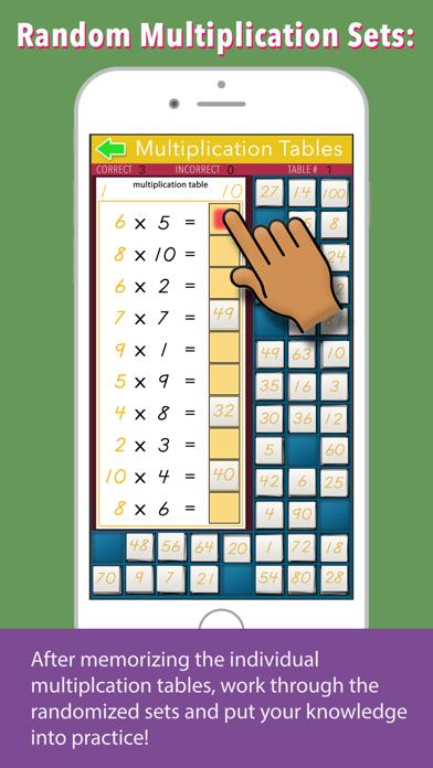 Multiplication Tables - Math screenshot 4