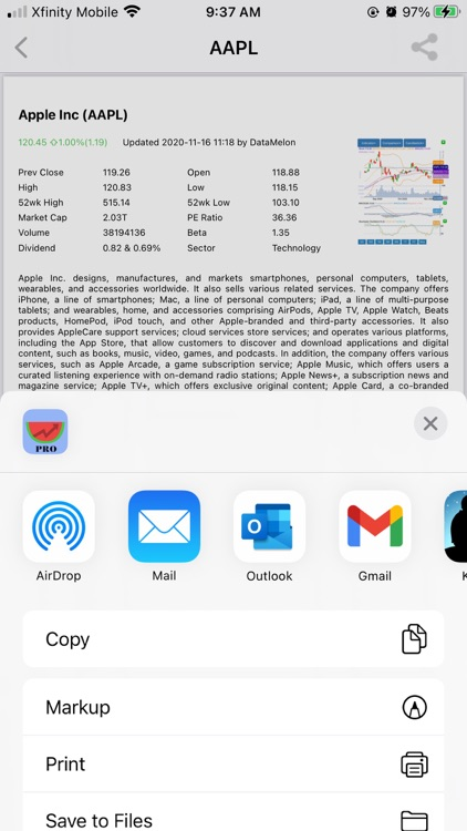 DataMelonPRO - Stock Analysis screenshot-3