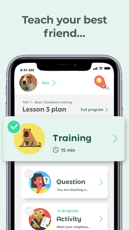 Dog Training & Clicker by Dogo screenshot-0