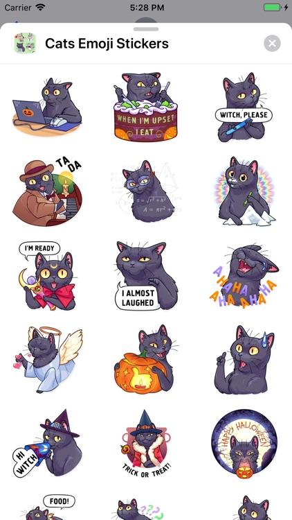 Cats Emoji Stickers screenshot-5