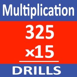 Long Multiplication Drills
