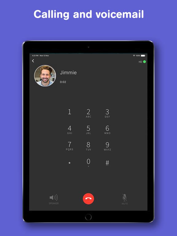 Text Free: Free Texting + Calling + MMS screenshot