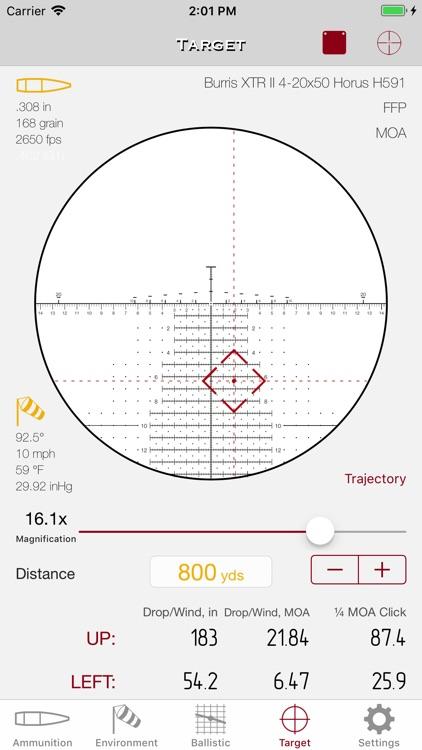 SBC - Ballistic Calculator app screenshot-7