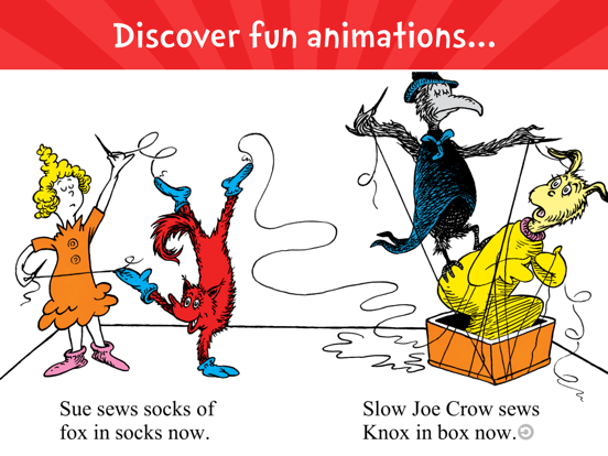 Fox in Socks by Dr. Seussのおすすめ画像2