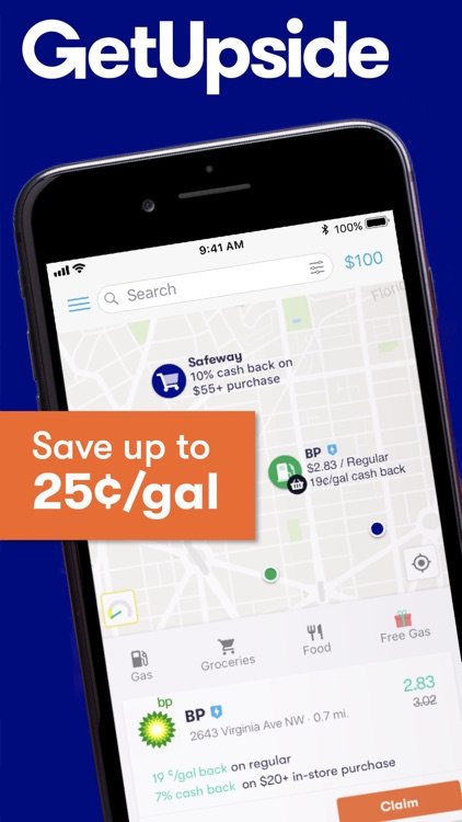 GetUpside Cashback: Gas & Food screenshot-1