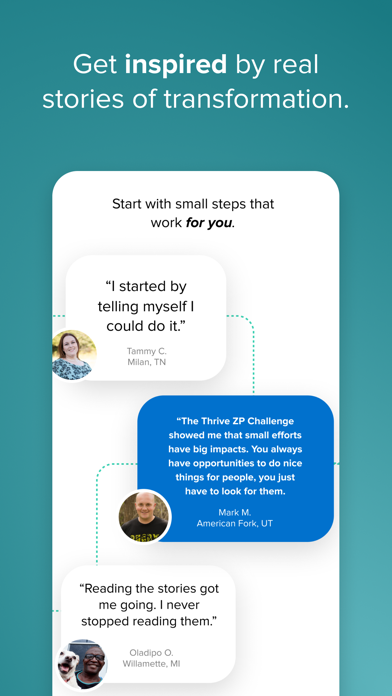 messages.download Thrive ZP software