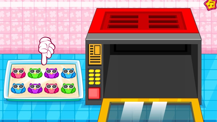 Cooking owl cookies game screenshot-6