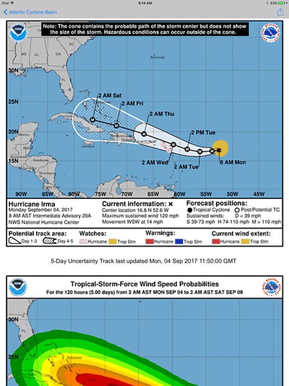 Screenshot #4 pour global storms pro