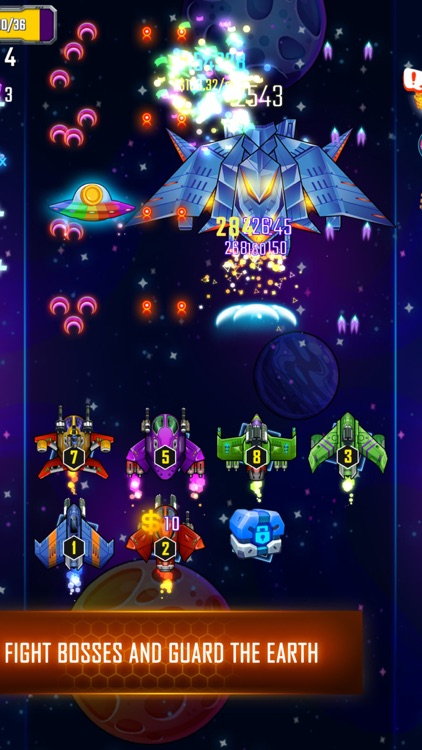 Space Defenders Adium screenshot-3
