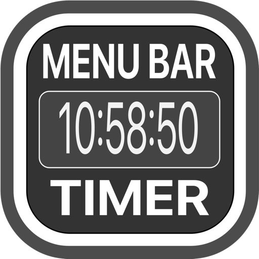 Menu Bar Timer