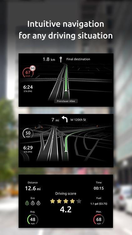 Hudway Go: Navigation with HUD screenshot-5