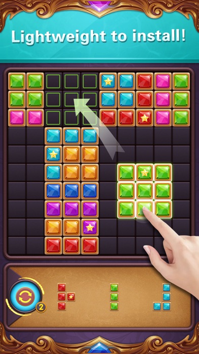 ブロックパズル:ダイヤモンドスターブラストのスクリーンショット4