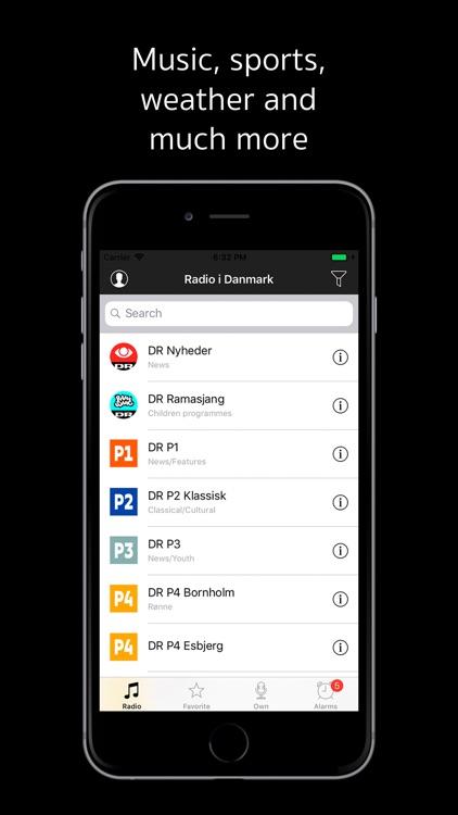 Radio af Danmark: Danish radio screenshot-3