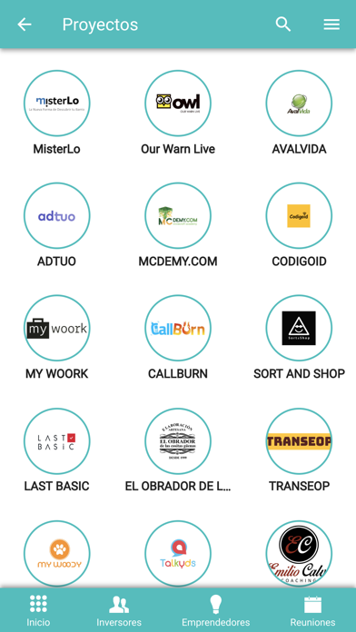 Screenshot of Netin Club App