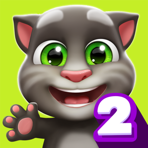 My Talking Tom 2 Games app