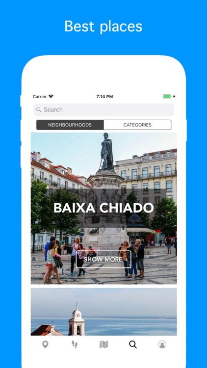 Lisbon - Travel Guide & Map screenshot-4