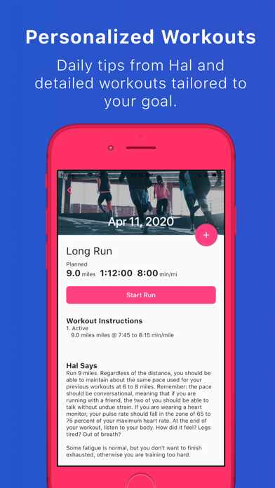 Run With Hal - Training Plans ScreenShot4