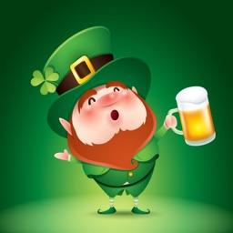 St Patrick's Day Sticker Party