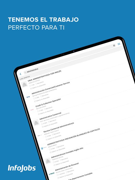 Screenshot #4 pour InfoJobs - Trabajo y Empleo
