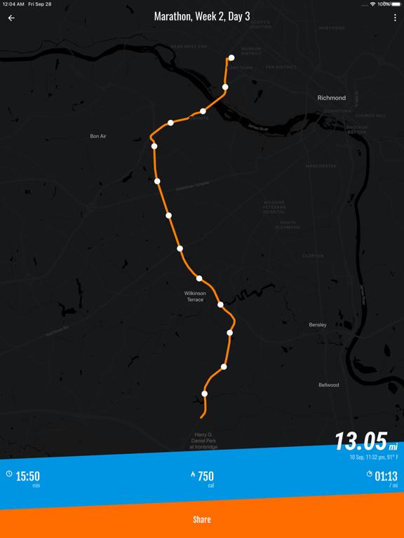 Personal Running Trainer: 5K, 10K, Marathon Interval Training Plans, GPS Run Tracker & Weight Loss Coach screenshot