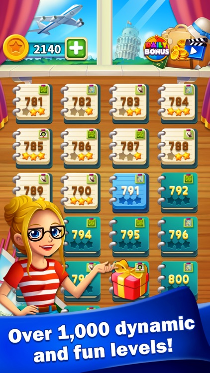 Jewels World Match 3 Puzzle screenshot-3