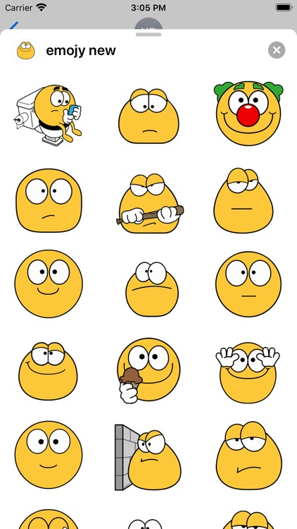 Cool emoji - Stickers for text